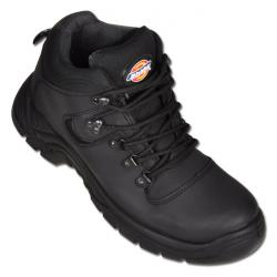 "Safety hiking shoe S1-P - ""Super Safety Fury"" - Oiled Black"