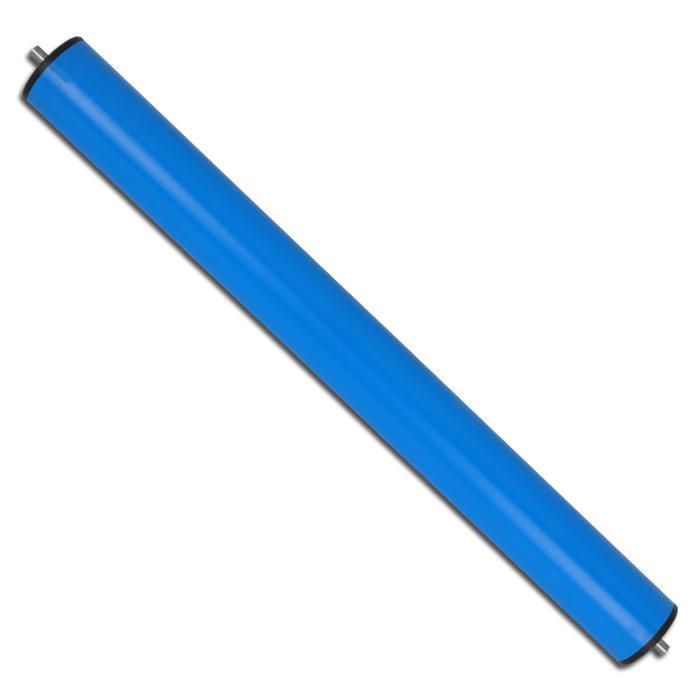 Transportrulle - plast - Ø 50 mm - med fjäderaxel Ø 8 mm