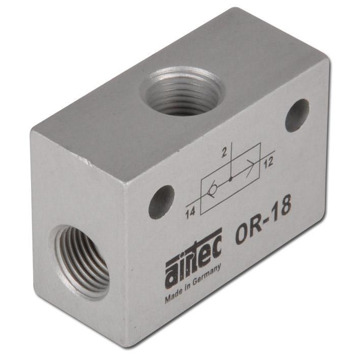 ELLER-ventil - precisionsutförande - 1 till 10 bar