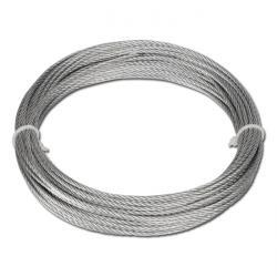 Drahtseil verzinkt auf Ring