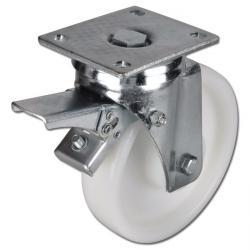 Schwerlast-Lenkrolle - Polyamidrad - Rad-Ø 150 bis 250 mm - Bauhöhe 200 bis 300 mm - Tragkraft 700 bis 1250 kg