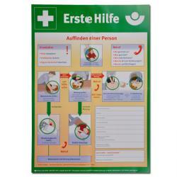 Anleitung Erste-Hilfe - Plakatform - Papier