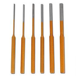 Splintentreiber-Satz - 6-teilig - Ø 3 bis 10 mm - 200 mm Länge
