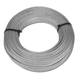 Drahtseilbox - Stahldrahtseil verzinkt - Preis per Rolle