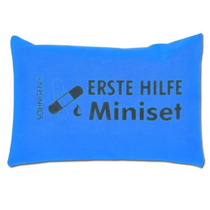 Erste Hilfe Set - Ausführung Miniset - für Zuhause + Unterwegs
