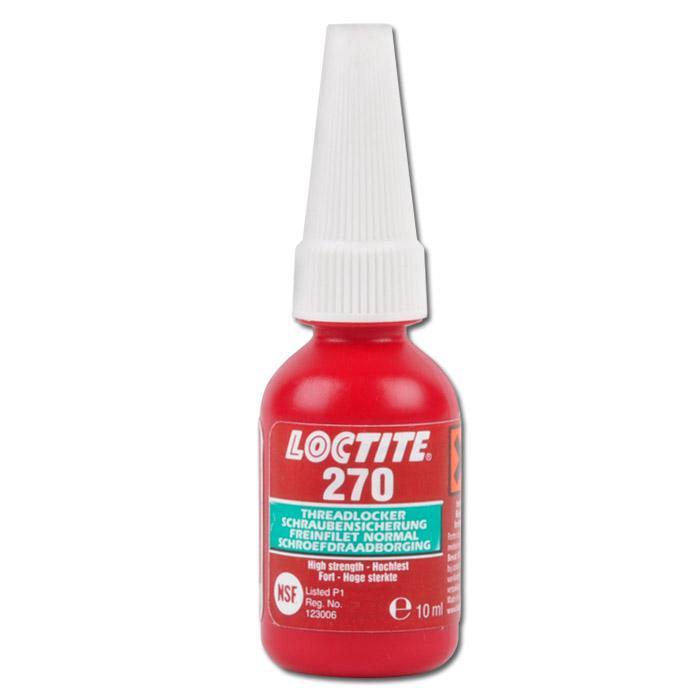 """Schraubensicherung """"Loctite 270"""" - bis 38Nm - hohe Festigkeit - für stark beansp"""