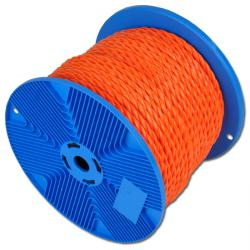 Textile rope - 3-strand twisted - polypropylene - rot-resistant