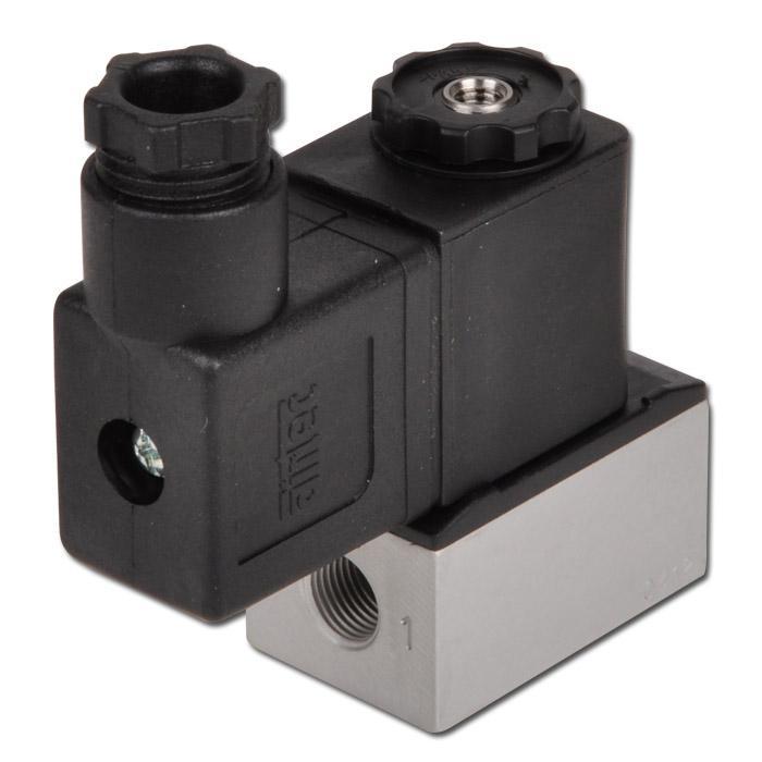 Solenoid valve - 3/2-way - Series 5 - -0.95 bar to 10 bar