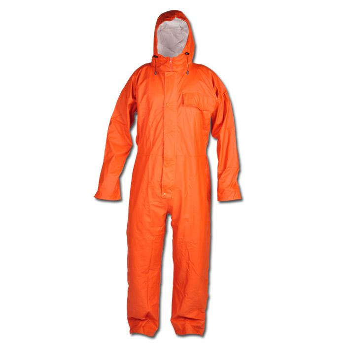 """Carolinensiel"" - PU Weatherproof Overall - Orange Color - Craftland"