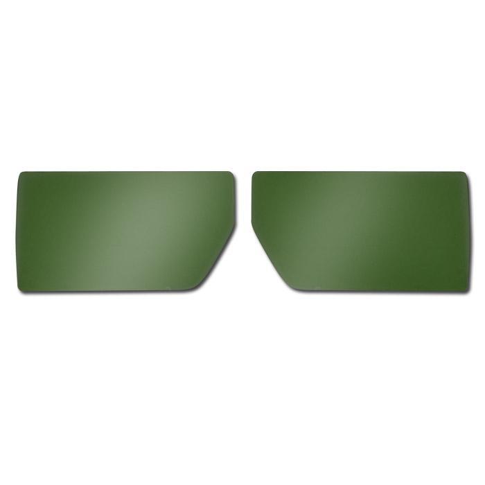 Scheibe für Fliegerbrillen - farblos, grün, hellgrau, gelbgrün