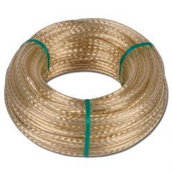 Drahtseil-Universalleine - im PVC-Mantel - auf Ring 30 Meter