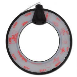 Bande pour collier de serrage à filet hélicoïdal - acier inoxydable - largeur 9mm - longueur 30m