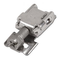 Kopf für Schneckengewinde-Endlosband - für 9 mm Band - Edelstahl 1.4301 - VE 50 Stück - Preis per VE