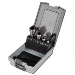 Taper och gradnings speciell uppsättning - ALFRA - HSS-E - 10-28 mm
