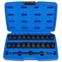 """carter d'huile spéciale set insert - 3/8 """"- 21 pièces"""