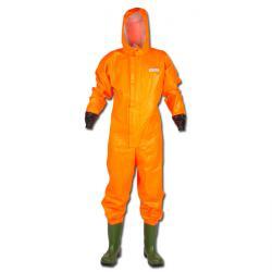 OCEAN Skyddsdräkt med S5-stövel - orange