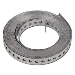 Perforated Tape - Tape Length 10 m - Galvanized Steel Or Steel Coated
