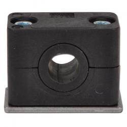 Rohrschelle mit Elstomereinsatz - Rohr-Ø 10 bis 32 mm - leichte Baureihe 4 oder 6 - Preis per Stück