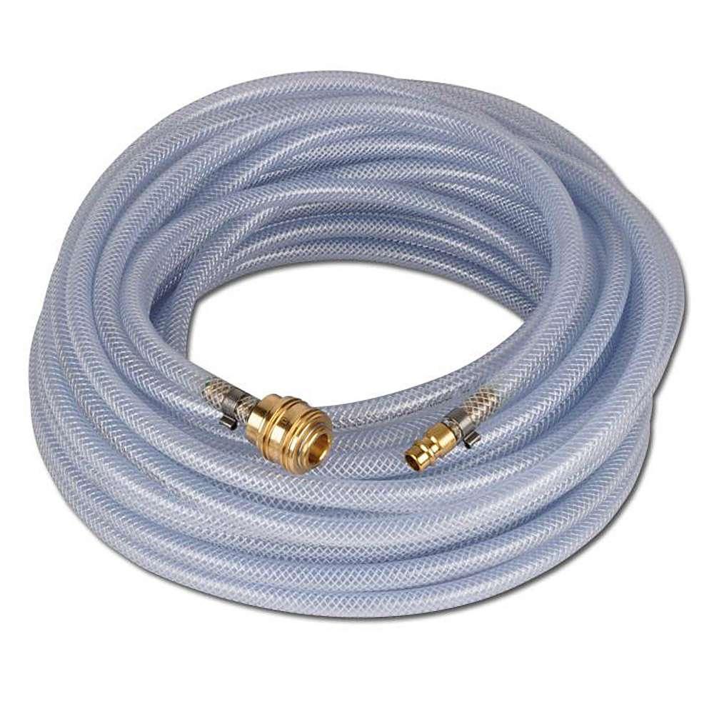 Tryckluftslang - till 20 bar - Ø 6/9 mm - med kopplingsdosa och plugg