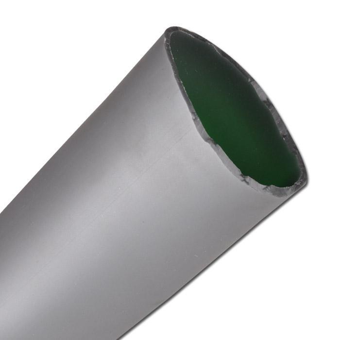 Skjutslang - PVC - slang-Ø till 83 mm - silvergrå