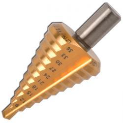 Stufenbohrer - FORUM - Bohrbereich 4-60 mm - TiN-beschichtet - universal - gerad