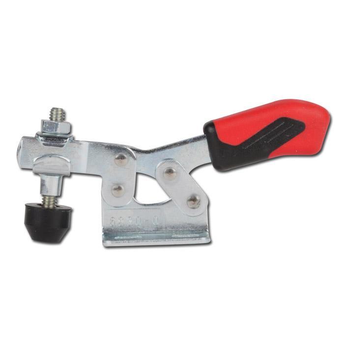 Horisontalspännare - med horisontell fot - stål/rostfritt stål