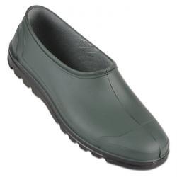 """PVC-skor """"FLORA"""" - PVC - grön/svart"""