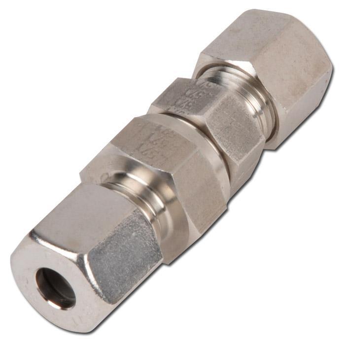 Rückschlagventil - VA - Baureihe S - Rohr auf Rohr - bis Ø 38 mm - bis 400 bar