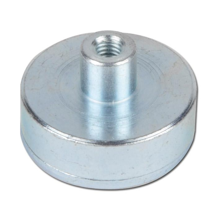 Flachtopfmagnet - aus Samarium Cobalt - Haftkraft bis 220 N