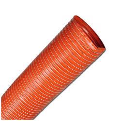 Absaugschlauch - Silikon - SIL 1 - sehr flexibel - Innen-Ø 19 bis 254 mm - bis 1,6 bar - Länge - 4 m - Preis per Rolle
