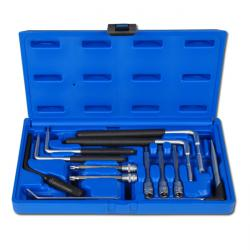 "Airbag tool set including two user bits T30 - 12 pieces - ""BGS"""