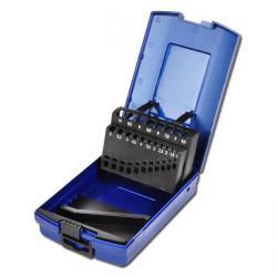 Kunststoffkassette  - für bis zu 50 Bohrer - leer