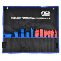 "Interior trim tool set - 11 pieces from plastic ""BGS"""