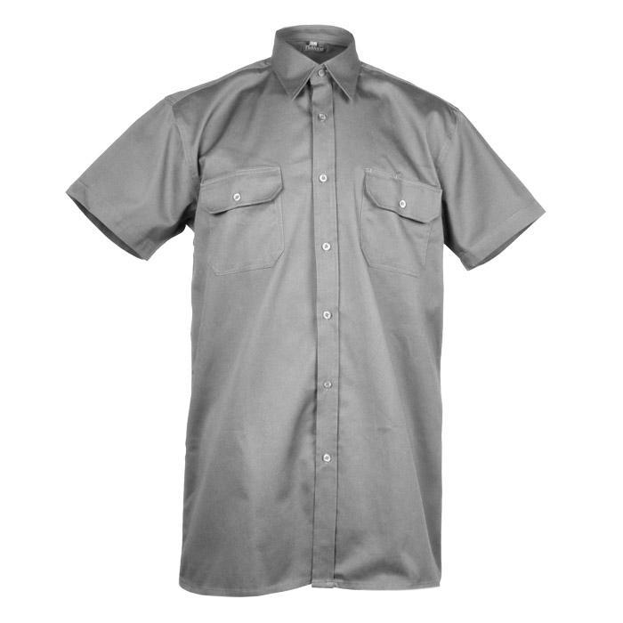 Arbetsskjorta - Planam - 100% bomull - kortärmad