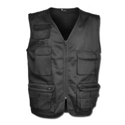 "Allround Vests ""MARXEN"" - 65% Polyester/ 35% Cotton - Black"