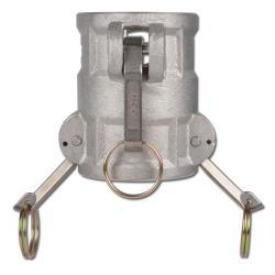 Snabbkopplingsförbindelse för stickpropp - rostfritt stål eller aluminium