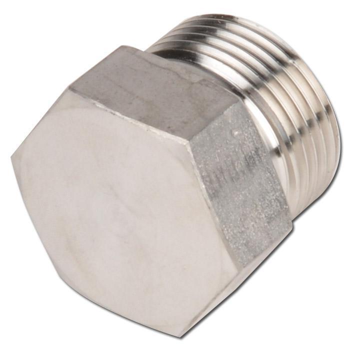 Tappo per collegamenti a vite - acciaio e acciaio zincato