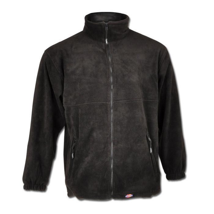 Fleecejacka - Dickies - 100% polyester - polarfleece - svart
