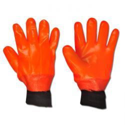 """Arbeitshandschuh""""Eskimo"""" - PVC und Schaumstoffisolierung - Farbe orange  - Norm EN 388/Klasse 3221/EN 511"""