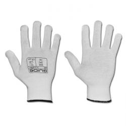 "Working glove ""Guide 545"" EN 388/Class 0120 - cotton-jersey with PVC-dots"
