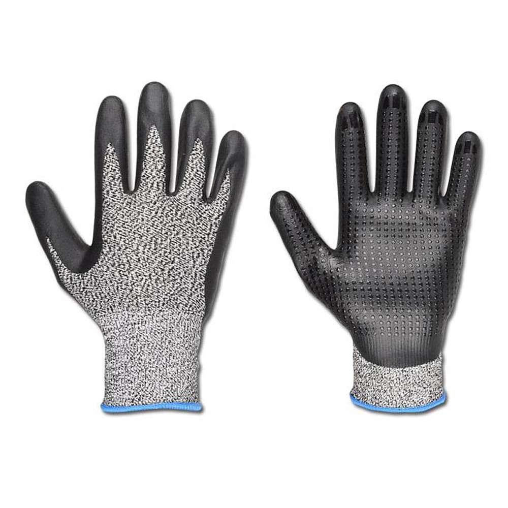 "Handschuh - ""Redding"" Norm EN 388 - schwarz 50%HDPE/50%Glasfaser"