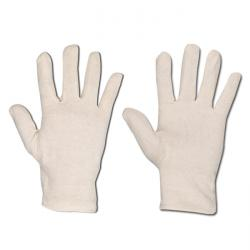"Jersey Schutzhandschuh ""Urumchi"" - Baumwoll-Jersey - Farbe weiß - Norm EN 388 / Klasse 1010"