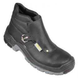 "Welding Boots ""HERNE"" - Calf Leather Shaft - Color Black - Norm EN ISO 20345 S3"
