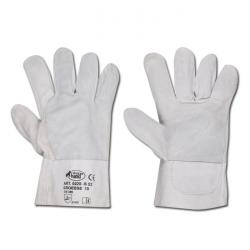 "Work Gloves ""S52"" - Calf-Split Leather - Color Nature - Norm EN 388 /Class 2143"