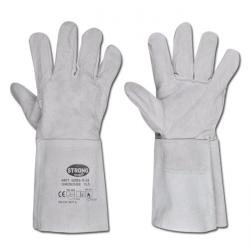 "Welding Gloves ""S53"" - Calf Split Leather - 5 Finger - Length Approx. 35cm  - No"