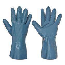 "Work Gloves ""Freemann"" - Neoprene / Latex - Black - Norm EN 388/Class 3110/EN 37"