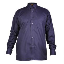 "Herrenhemd ""Oxford"" - Dickies - Langarm - marineblau - Baumwolle"