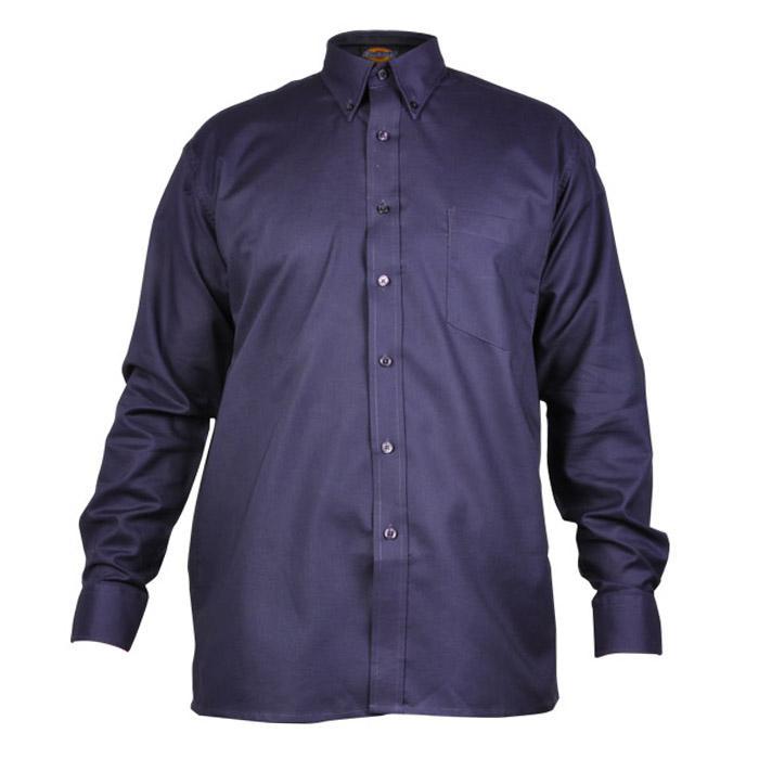 "Skjorta ""Oxford"" - herr - Dickies - långärmad - marinblå"