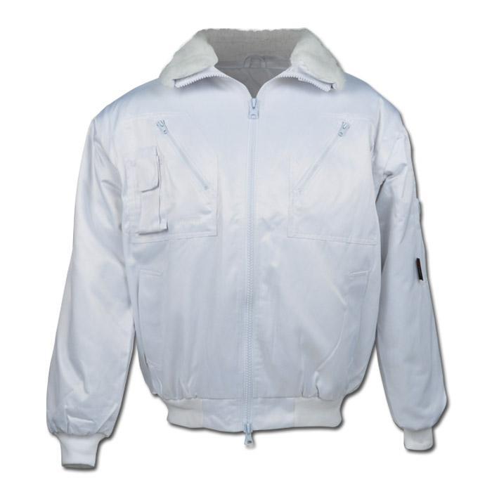 """Giacca """"BERGEN"""" - tessuto misto - colore bianco"""