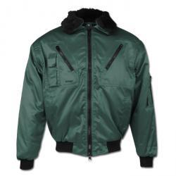 """Pilot Jacket """"LILLEHAMMER"""" - 60% Cotton/40% Polyester - Green"""
